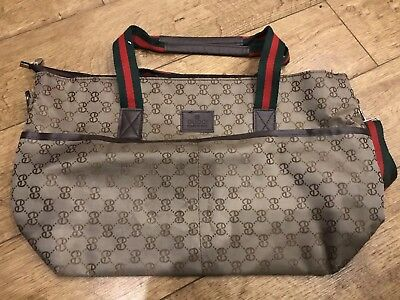 GUCCI Designer Inspired Baby Changing Bag | Great Condition