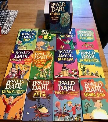 Roald Dahl - 15 Classic Book, Box Set Collection - Never Read  - Great Xmas Gift
