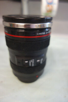 Caniam Camera Lens Cup Thermos EF 24-105mm f/4.0L Coffee Tea Travel Mug Cup