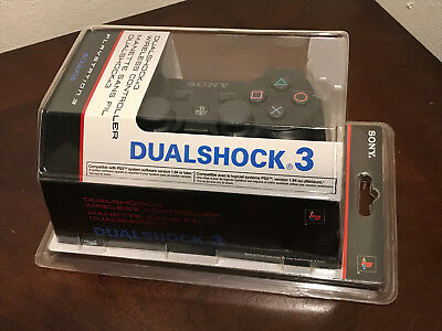 Official Sony Playstation 3 Dualshock 3 Wireless Controller Oem / New, Sealed