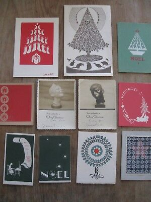 Folly Cove Designers Christmas Card Collection Mid Century