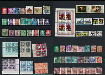 Stamps of Old Germany, DDR, Alliierte Besatzung, used,  great Lot (D 15)