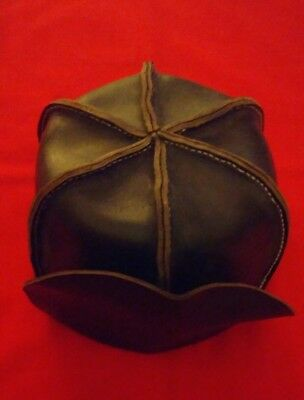 Ranger Leather Cap Revolutionary War Colonial British Butlers