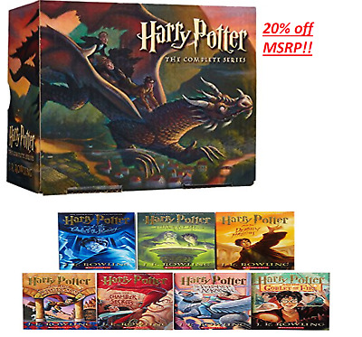 20% off The Complete Series Collection Harry Potter Paperback Box Set Books 1-7