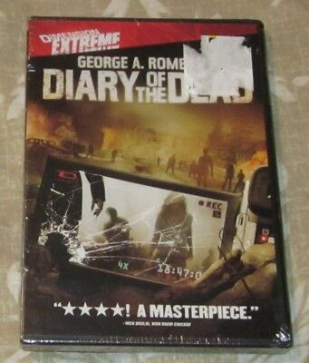 Diary Of The Dead George A.romero Horror Dvd Brand New Free Shipping