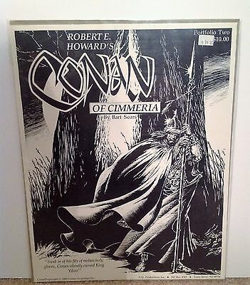 Conan of Cimmeria Bart Sears Portfolio Two 1989