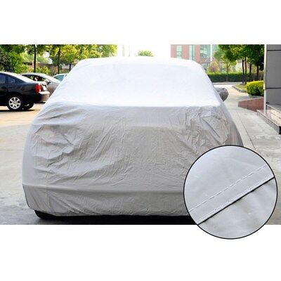 Universal Full Sun UV Shade Car Cover Outdoor Waterproof Weather Proof Size M AU