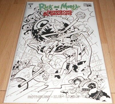 Rick and Morty vs. Dungeons and Dragons  #1 NYCC Retailer Exclusive variant.
