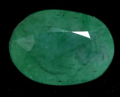 Loose Gem Stone 5.75 Ct Natural Green Emerald Muzo Colombian AGSL Certified