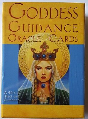 Goddess Guidance Oracle Cards Doreen Virtue 44 Card Deck & Guidebook NEW