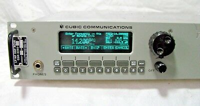 CUBIC COMMUNICATIONS CDR-3250 MILITARY SPEC LF - HF DSP Receiver all mode