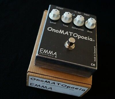 EMMA -onoMATOpoeia- Boutique Overdrive/Booster Pedal, OVP