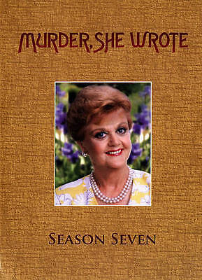 Murder She Wrote: The Complete Seventh Season 7th 5-Disc Set DVD VIDEO MOVIE TV