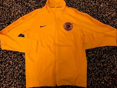 Kaizer Chiefs Nike Tracksuit Jacket Top - Small - Yellow