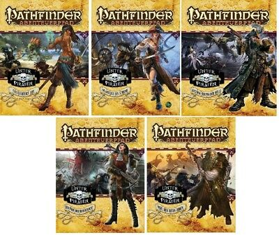 Pathfinder Bundle - Nr. #2 - #6 - Unter Piraten - Mängelexemplare