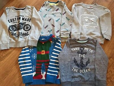 Lovely boys jumper bundle 4-5 Years
