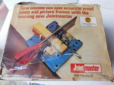 Joint Master Mark II Sawing Jig - 1970's - Boxed - New Old Stock - Complete free