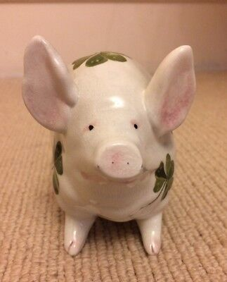 Wemyss shamrock small pig genuine old Scottish