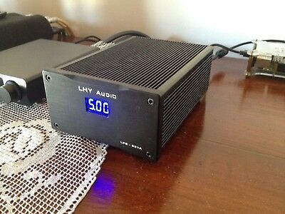 Alimentatore lineare / Linear Power Supply 25VA 5V@3.5A  per audio HIFI