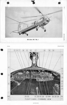 Bristol 192 Belvedere Manual RARE Historic Helicopter archive 1960's HC.Mk.1 ap