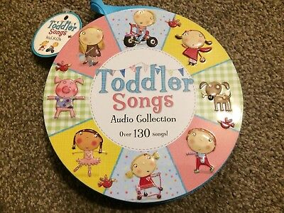 Toddler Songs 8 CD Audio Collection Over 130 Songs Stocking Filler Music Rhymes