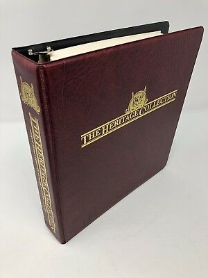 2012 Heritage Collection Mystic Stamp Album US Commemorative Stamps 1935 to 1991