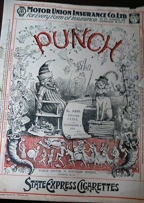 Punch magazine. November 4th 1925. No. 4400