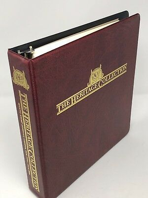 Heritage Collection Mystic Stamp Album United States Postage Stamps 1847 - 2001
