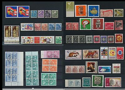 Stamps of Old Germany, DDR, Alliierte Besatzung, used,  great Lot (QS 1)