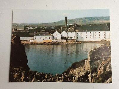 Laphroaig Distillery Postcard Port Ellen Isle Of Islay - Unused