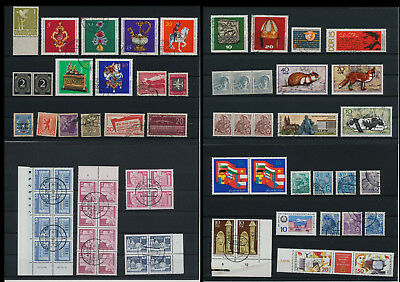 Stamps of Old Germany, DDR, Alliierte Besatzung, used,  great Lot (QS 3)