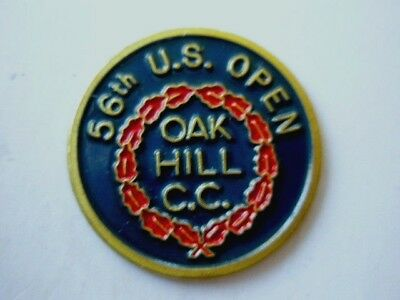 "1956 Us Open (Cary Middlecoff Last Majors Title) 1"" ""golf Design"" Ball Marker"