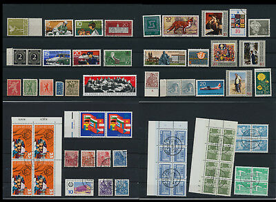 Stamps of Old Germany, DDR, Alliierte Besatzung, used,  great Lot (QS 5)