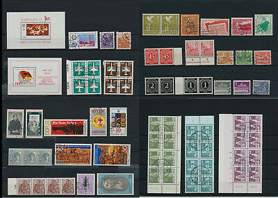 Stamps of Old Germany, DDR, Alliierte Besatzung, used,  great Lot (QS 9)