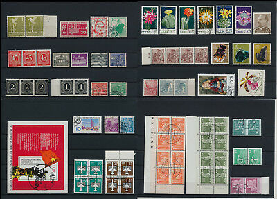 Stamps of Old Germany, DDR, Alliierte Besatzung, used,  great Lot (QS 11)