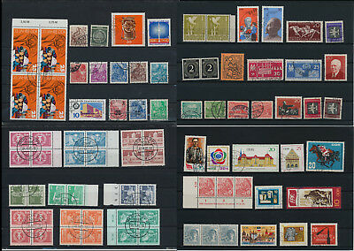 Stamps of Old Germany, DDR, Alliierte Besatzung, used,  great Lot (QS 23)