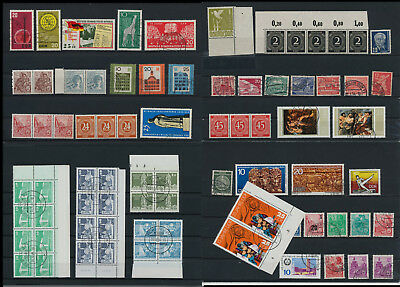 Stamps of Old Germany, DDR, Alliierte Besatzung, used,  great Lot (QS 29)