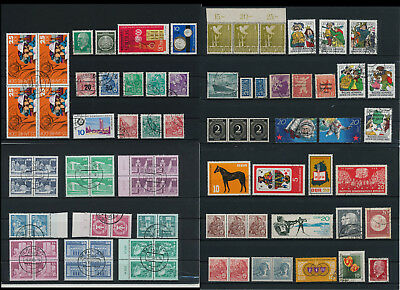 Stamps of Old Germany, DDR, Alliierte Besatzung, used,  great Lot (QS 33)