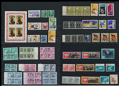 Stamps of Old Germany, DDR, Alliierte Besatzung, used,  great Lot (QS 41)