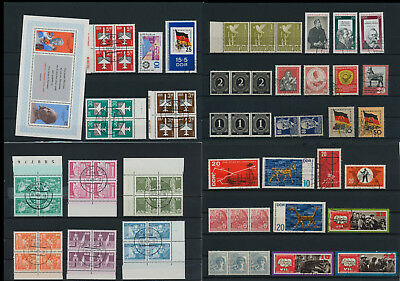 Stamps of Old Germany, DDR, Alliierte Besatzung, used,  great Lot (QS 43)