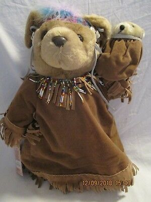 """Bearly People Squaw Bear from Costume Ball Collection 14"""" Tall"""