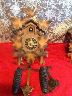 Vtg Regula German Cuckoo Clock  Made in Germany