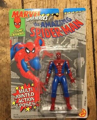 Toy Biz Marvel The Amazing Spider-Man Multi Jointed Action Poses Figure Sealed