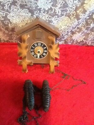 Vtg Regula German Cuckoo Clock  Made in Germany Parts