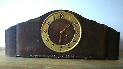 Large Art Deco Mantel Clock by Mauthe