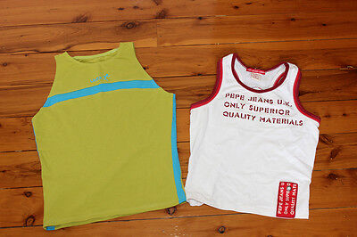 Active Wear 2 T shirts Pepe Jeans UK Litex Size S iin AS NEW condition