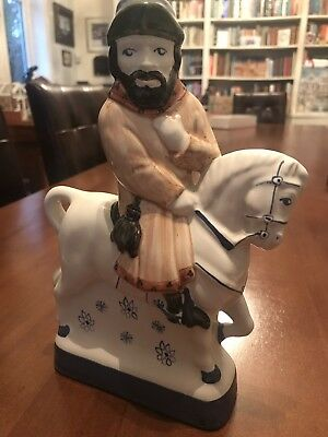 Rye Pottery Hand Painted Figure Chaucer Canterbury tales The Franklin
