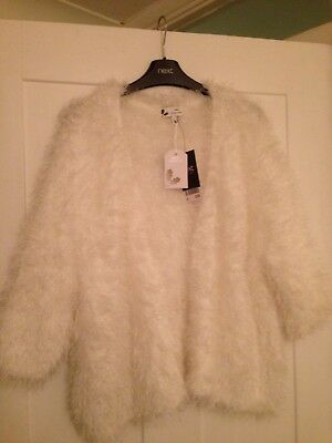 Next Winter Knit 16 - Winter White Shrug New With Tags