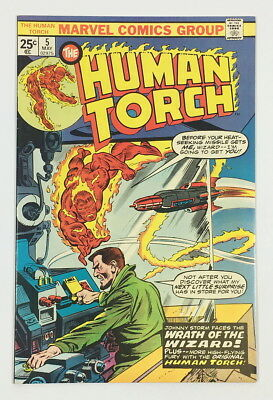 Marvel Bronze Age Human Torch #5 – 8.5 VF+ Fantastic High-grade book!!!