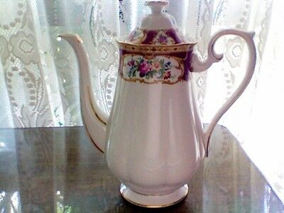 Royal Albert Lady Hamilton Coffee Pot In Great Condition Look Love Buy !!!!